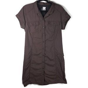 Columbia Omni-Dry Cargo Shirt Dress Size Large